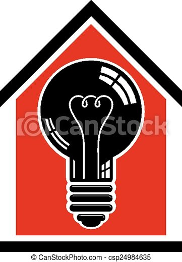 Construction Idea Save Electricity Vector
