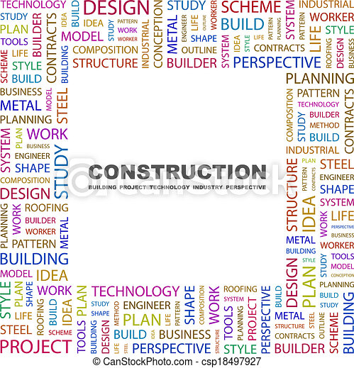 Construcción. - csp18497927