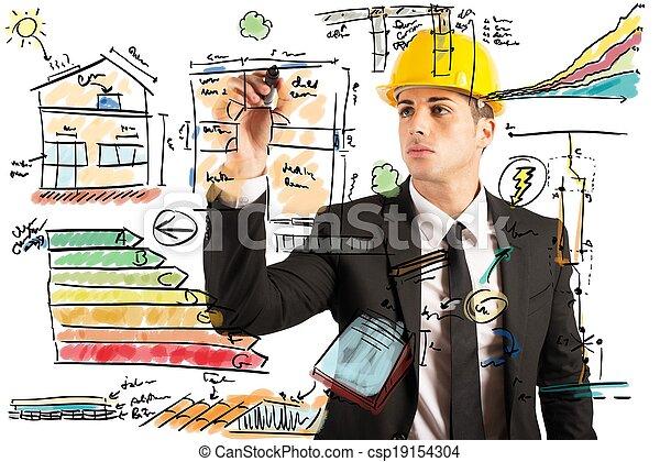 construction, ingénieur - csp19154304
