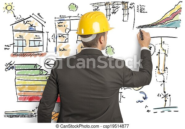 construction, ingénieur - csp19514877