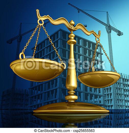 Construction Law - csp25655563
