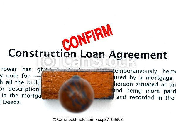Construction Loan Agreement Stock Photography  Search Pictures And