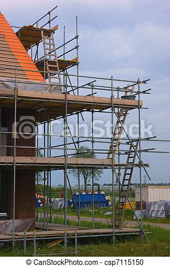 construction maison - csp7115150