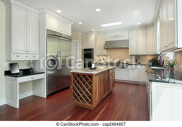 construction maison, cuisine, nouveau - csp2464607