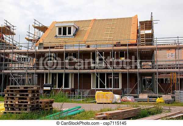 construction maison - csp7115145