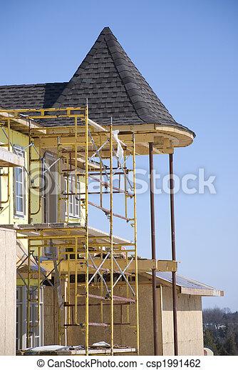 construction, nouveau, résidentiel - csp1991462