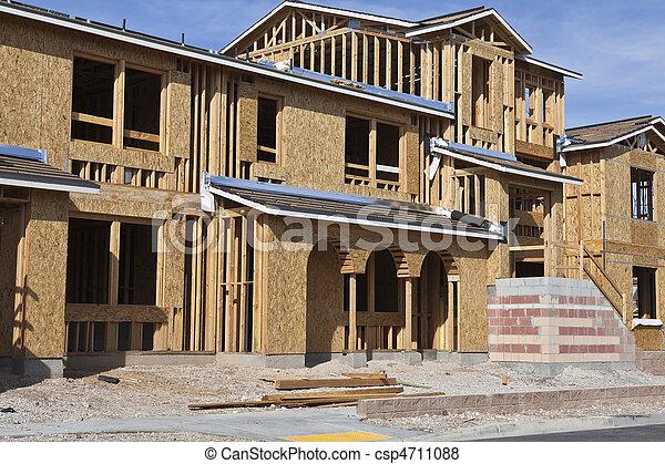 construction, nouvelle maison - csp4711088