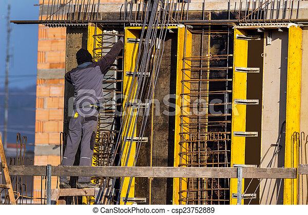 construction of a dwelling - csp23752889