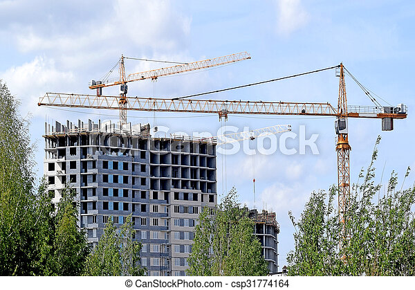 construction of a new hous - csp31774164