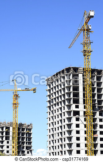 construction of a new hous - csp31774169