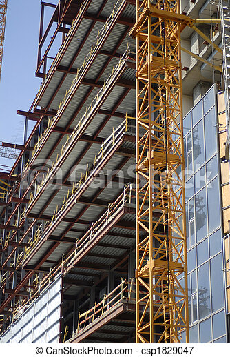 construction of building - csp1829047
