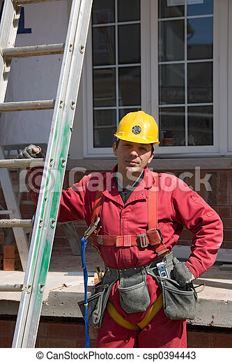 construction people - csp0394443
