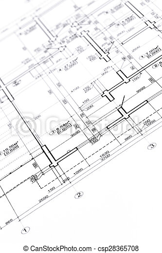 Construction plan blueprint floor plans engineering and construction plan csp28365708 malvernweather Images