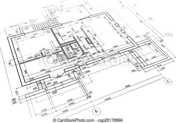construction, plans - csp28178866