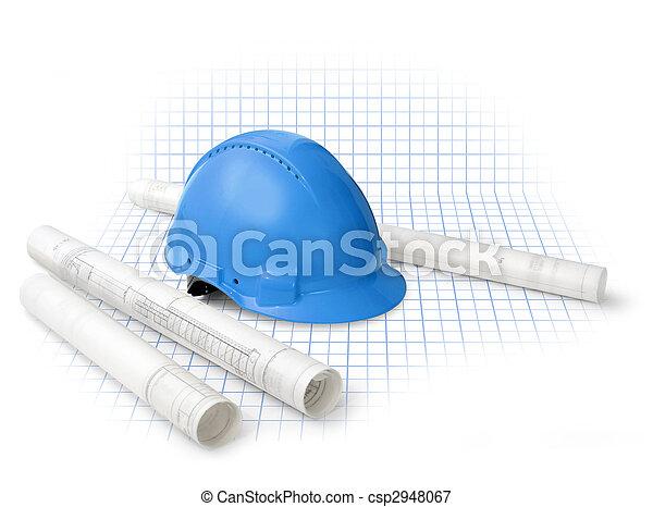 construction, plans - csp2948067