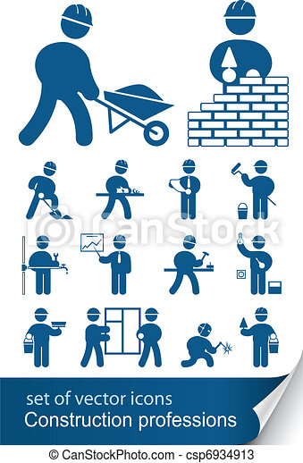construction professions - csp6934913