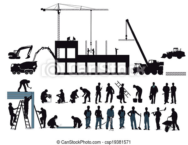 Construction project with construct - csp19381571
