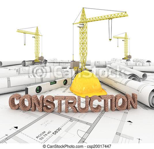 Construction rouleau plan rouleau render crayon for Plans et dessins de construction