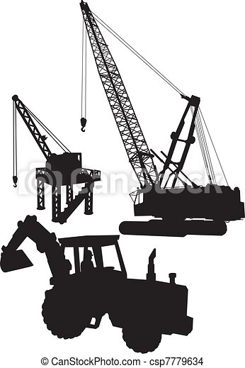 Construction site - csp7779634