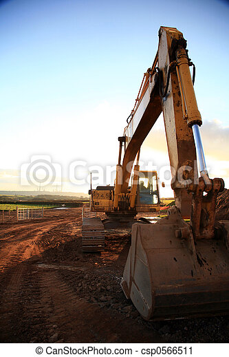 Construction Site - csp0566511