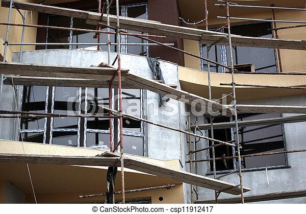 Construction site - csp11912417