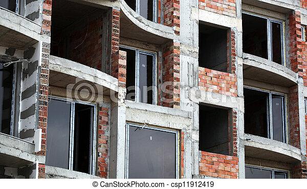 Construction site - csp11912419