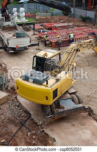 Construction Site - csp8052551