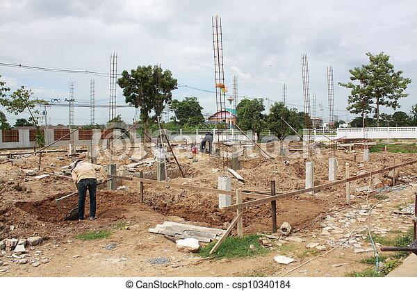 Construction site - csp10340184