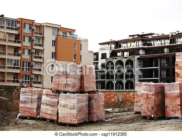 Construction site - csp11912385