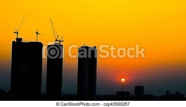 Construction Site - csp43560287
