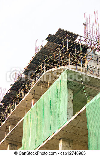Construction site - csp12740965