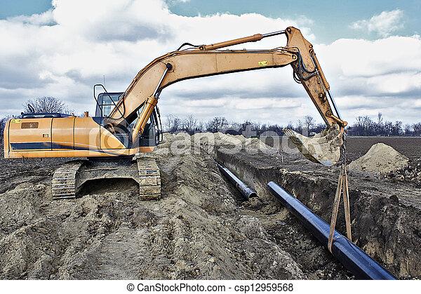 Construction site - csp12959568