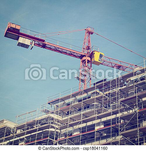 Construction Site - csp18041160