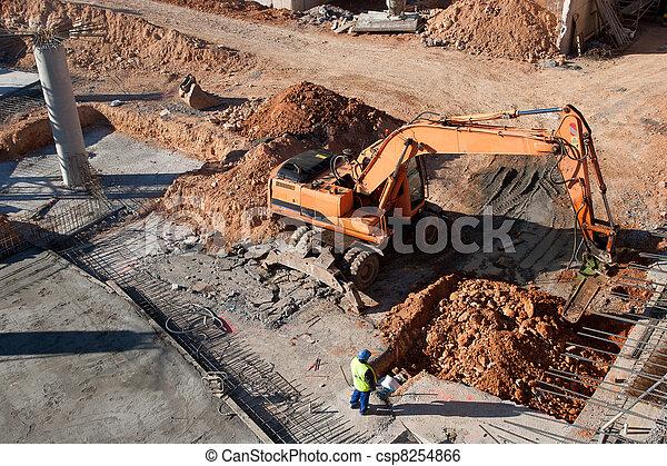 Construction Site - csp8254866