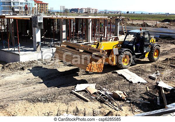 Construction site - csp6285585