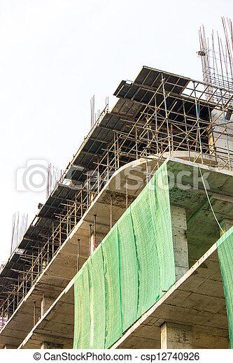 Construction site - csp12740926