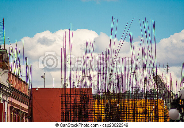 Construction site - csp23022349