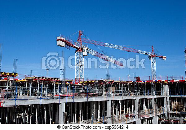 Construction Site - csp5364214