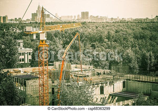 construction site - csp68363299