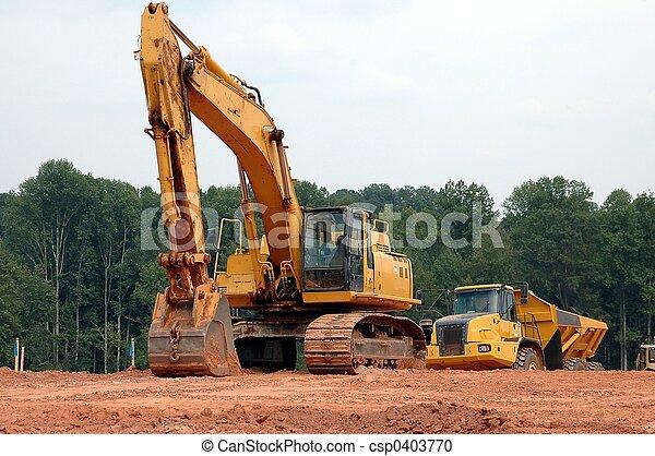 Construction Site - csp0403770