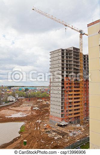 construction site - csp13996906