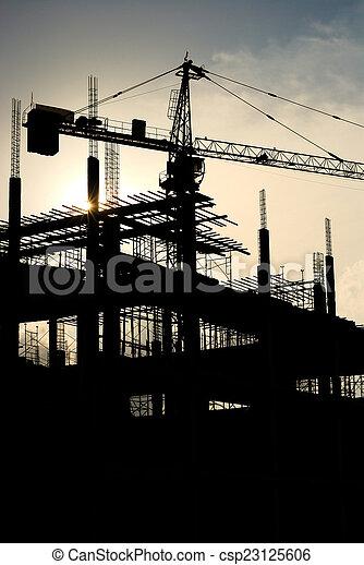 construction site - csp23125606