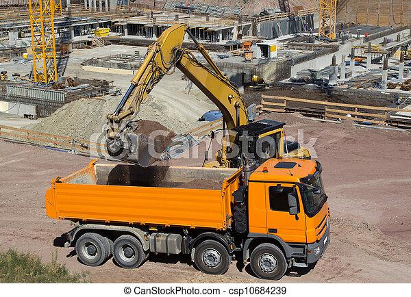 Construction Site - csp10684239