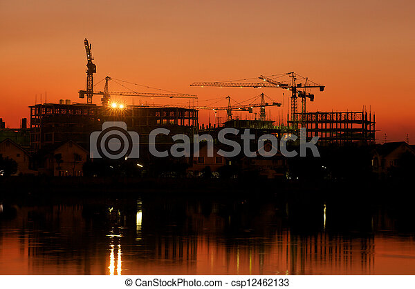 Construction Site - csp12462133