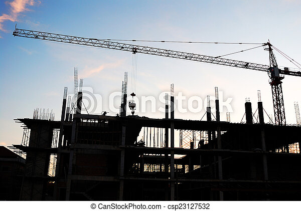 construction site - csp23127532