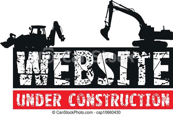 construction, site web - csp10660430