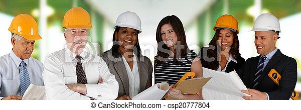 Construction Team - csp20777804