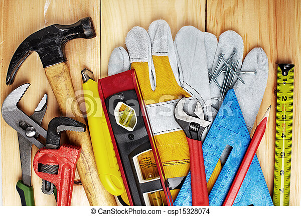 Construction tools. - csp15328074