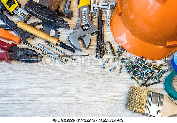 construction tools - csp53704929