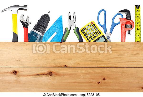 Construction tools. - csp15328105